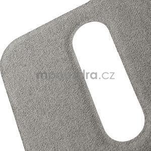 Flipové PU kožené pouzdro na HTC Desire 500 - růžové - 7