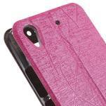 Pouzdro s okýnky na Huawei Ascend G620s - růžové - 7/7