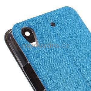 Pouzdro s okýnky na Huawei Ascend G620s - světle modré - 7