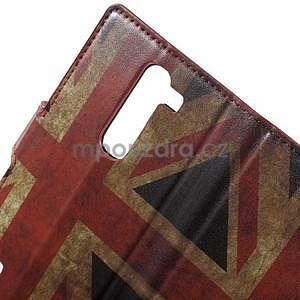 Pěněženkové pouzdro na LG G4c H525n - vlajka UK - 7