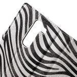 Pěněženkové pouzdro na LG G4c H525n - zebra - 7/7