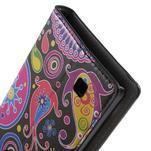 Pěněženkové pouzdro na LG G4c H525n - barevné kruhy - 7/7