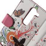 Pěněženkové pouzdro na LG G4c H525n - motýlkové - 7/7