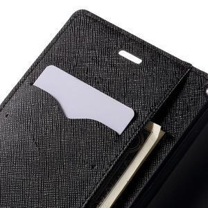 Diary stylové pouzdro na Asus Zenfone 2 Laser - černé - 7