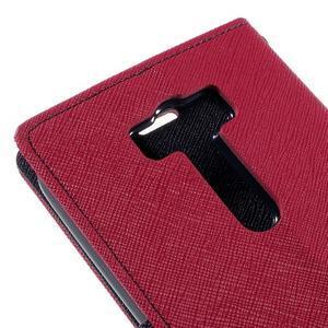 Diary stylové pouzdro na Asus Zenfone 2 Laser - rose - 7