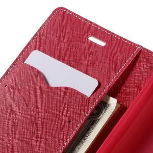 Diary stylové pouzdro na Asus Zenfone 2 Laser - růžové - 7