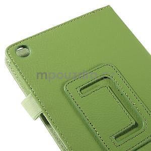 Koženkové pouzdro na tablet Asus ZenPad 7.0 Z370CG - zelené - 7