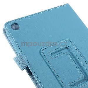 Koženkové pouzdro na tablet Asus ZenPad 7.0 Z370CG - světle modré - 7