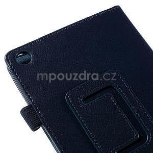 Koženkové pouzdro na tablet Asus ZenPad 7.0 Z370CG - tmavě modré - 7