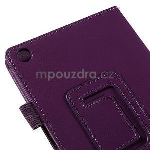Koženkové pouzdro na tablet Asus ZenPad 7.0 Z370CG - fialové - 7