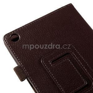 Koženkové pouzdro na tablet Asus ZenPad 7.0 Z370CG - coffee - 7