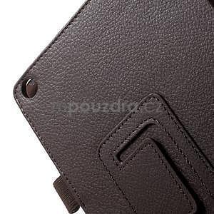 Safety polohovatelné pouzdro na tablet Asus ZenPad 8.0 Z380C - hnědé - 7