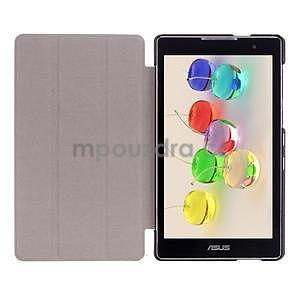 Trifold pouzdro na tablet Asus ZenPad C 7.0 Z170MG - tmavěmodré - 7