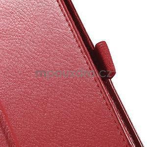 Safety koženkové pouzdro na Asus ZenPad C 7.0 Z170MG - červené - 7