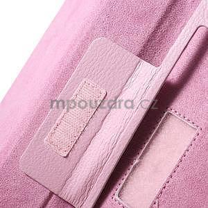 Safety koženkové pouzdro na Asus ZenPad C 7.0 Z170MG - růžové - 7