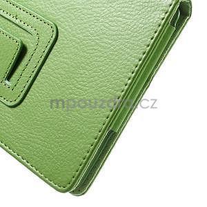 Safety koženkové pouzdro na Asus ZenPad C 7.0 Z170MG - zelené - 7