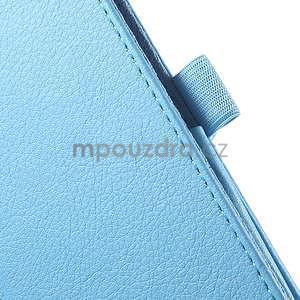 Safety koženkové pouzdro na Asus ZenPad C 7.0 Z170MG - světlemodré - 7