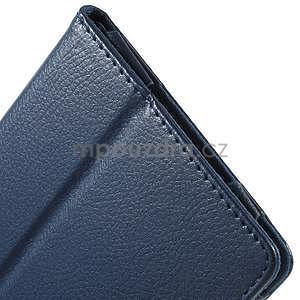 Safety koženkové pouzdro na Asus ZenPad C 7.0 Z170MG - tmavěmodré - 7