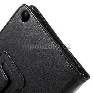 Safety koženkové pouzdro na Asus ZenPad C 7.0 Z170MG - černé - 7