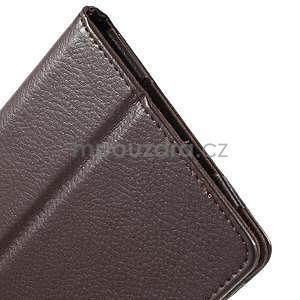 Safety koženkové pouzdro na Asus ZenPad C 7.0 Z170MG - hnědé - 7