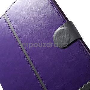 Daffi elegantní pouzdro na iPad Air 2 - fialové - 7