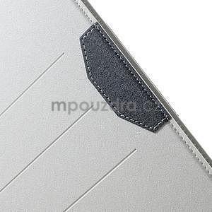 Elegant polohovatelné pouzdro na iPad Air 2 - bílé - 7