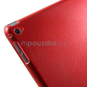 Trifold polohovatelné pouzdro na iPad Air 2 - červené - 7