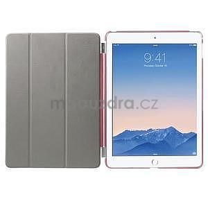Trifold polohovatelné pouzdro na iPad Air 2 - rose - 7