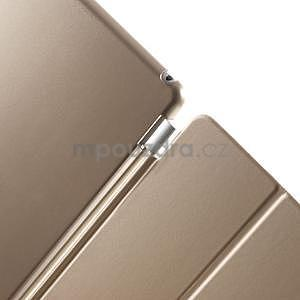 Trifold polohovatelné pouzdro na iPad Air 2 - champagne - 7
