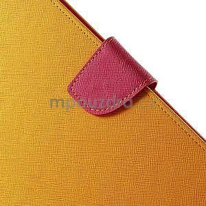 Excelent Diary pouzdro pro iPad Air 2 - oranžové - 7