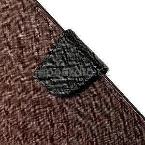 Excelent Diary pouzdro pro iPad Air 2 - hnědé - 7