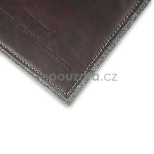 Envelope univerzální pouzdro na tablet 26.7 x 20 cm - coffee - 7