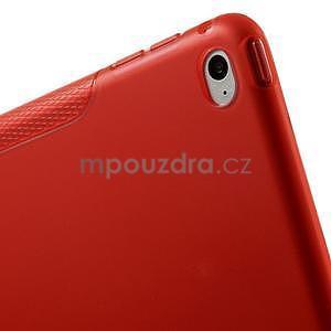 S-line gelový obal na iPad Air 2 - červený - 7