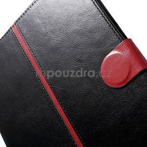 Daffi elegantní pouzdro na iPad Air 2 - černé - 7