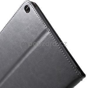 Daffi elegantní pouzdro na iPad Air 2 - šedé - 7