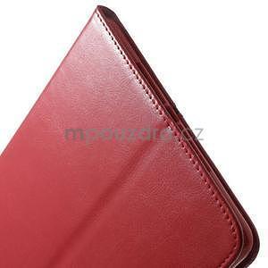 Daffi elegantní pouzdro na iPad Air 2 - červené - 7