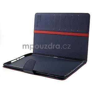 Diary peněženkové pouzdro na iPad Air - červené - 7