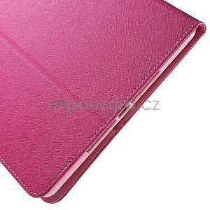 Diary peněženkové pouzdro na iPad Air - rose - 7