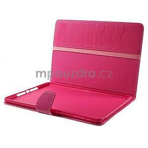 Diary peněženkové pouzdro na iPad Air - růžové - 7