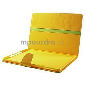 Diary peněženkové pouzdro na iPad Air - zelené - 7