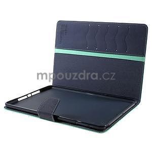 Diary peněženkové pouzdro na iPad Air - azurové - 7