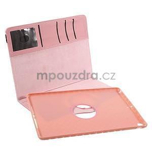 Circ otočné pouzdro na Apple iPad Air - růžové - 7