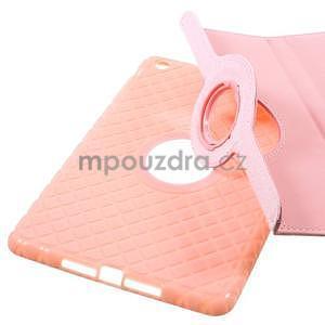Circu otočné pouzdro na Apple iPad Mini 3, iPad Mini 2 a ipad Mini - růžové - 7