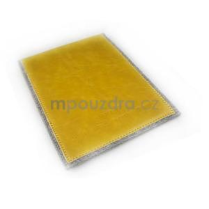 Envelope univerzální pouzdro na tablet 22 x 16 cm - žluté - 7