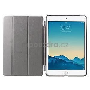 Classic tří polohové pouzdro na iPad Mini 3, ipad Mini 2 a na iPad Mini - černé - 7