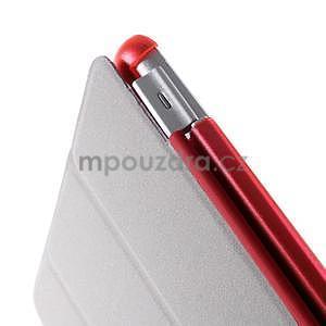 Classic tří polohové pouzdro na iPad Mini 3, ipad Mini 2 a na iPad Mini - červené - 7