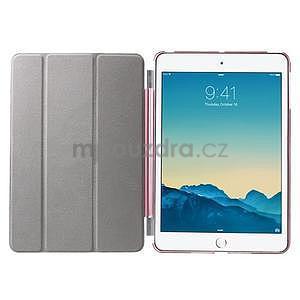 Classic tří polohové pouzdro na iPad Mini 3, ipad Mini 2 a na iPad Mini - růžové - 7