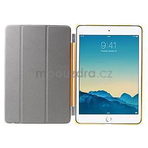 Classic tří polohové pouzdro na iPad Mini 3, ipad Mini 2 a na iPad Mini - oranžová - 7
