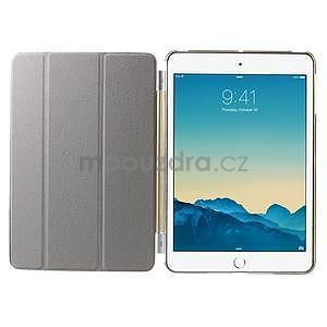 Classic tří polohové pouzdro na iPad Mini 3, ipad Mini 2 a na iPad Mini - champagne - 7