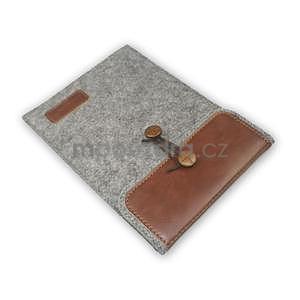 Envelope univerzální pouzdro na tablet 22 x 16 cm - hnědé - 7